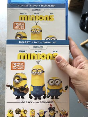 Minion dvd for Sale in Arlington Heights, IL