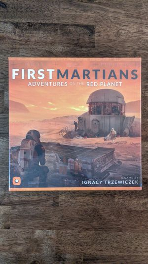 First Martians board game for Sale in Portland, OR