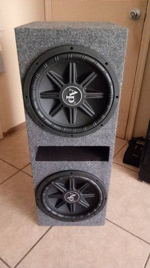 Audiopipe 12s Subwoofers.1800 watts.NEW!!! for Sale in Mesa, AZ