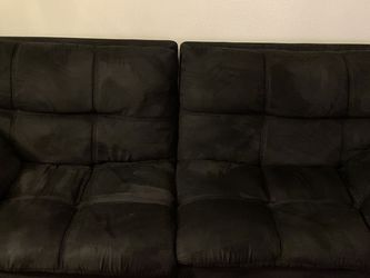 black couch / futon for Sale in Miami, FL