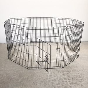 """(NEW) $35 Foldable 30"""" Tall x 24"""" Wide x 8-Panel Pet Playpen Dog Crate Metal Fence Exercise Cage Play Pen for Sale in Whittier, CA"""