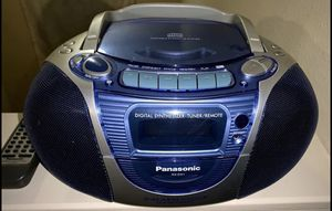 Panasonic-RX-DX1 - Boombox - CD for Sale in Houston, TX