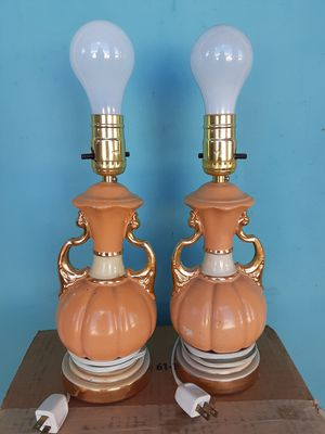 Twin Vintage Lamps for Sale in Tucson, AZ