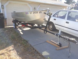 Boat and trailer. [No motor] for Sale in Roseville, CA