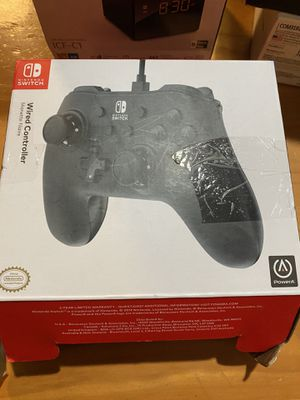OPEN BOX nintendo switch wired controller for Sale in North Las Vegas, NV