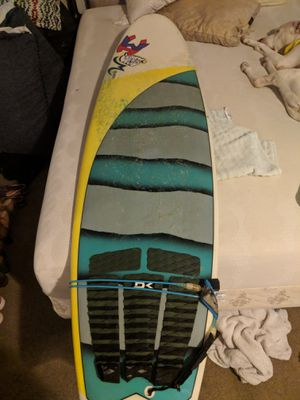 6foot wave hog m board quad fin thruster. Surfboard for Sale in Houston, TX