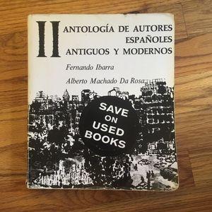 Antología De Autores Españoled Antiguos for Sale in Detroit, MI