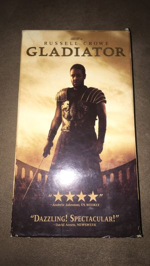 Gladiator (VHS) for Sale in Los Angeles, CA