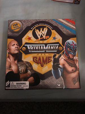 WWE Trivamania board game for Sale in Las Vegas, NV