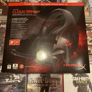 HyperX Cloud Stinger Wired 50 mm Gaming Headset for PS4, PC, Xbox One, Nintendo for Sale in Washington, DC