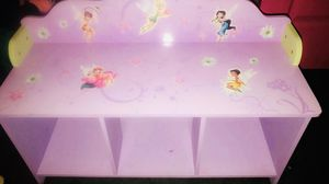 Tinker bell Delta Enterprise Disney Faires Toy Bench for Sale in Victoria, TX