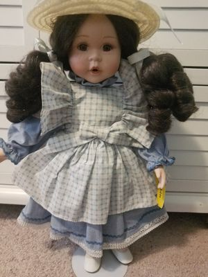 Robin antique porcelian doll for Sale in Charlotte, NC