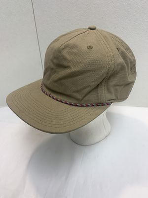Patagonia Canvas Rope Blank Snapback Hat Cap Hiking On Size Fits All for Sale in Pelham, NH
