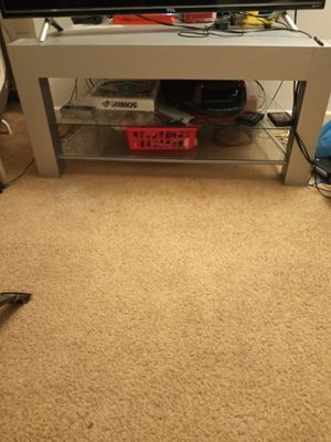 55 inch glass tv stand for Sale in Mount Oliver, PA