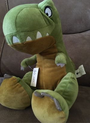 "9"" Are we there yet/T-Rex -stuffed animal $6 for Sale in Menifee, CA"