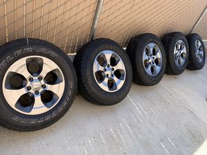 Jeep tires and wheels for Sale in San Diego, CA