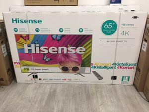 65 INCH HISENSE 4K SMART TV for Sale in Chino Hills, CA