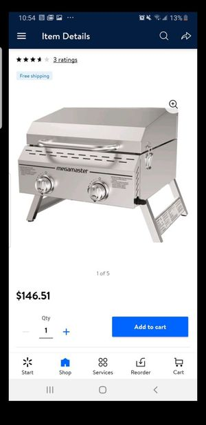 Megamaster grill 2 burners for Sale in Loma Linda, CA