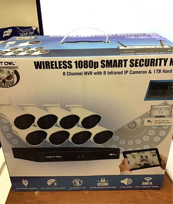 Wireless 1080p Smart Security Cameras