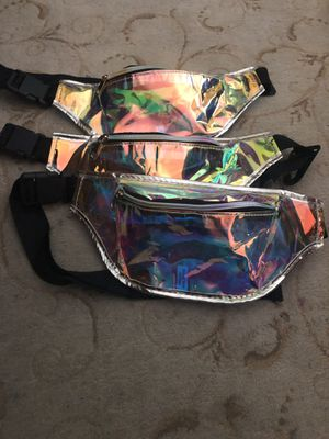 Holographic Fanny Pack / Iridescent Fanny Pack for Sale in Los Angeles, CA