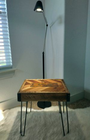 Reclaimed wood end table for Sale in Austin, TX