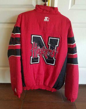 Nebraska Starter Jacket size L for Sale in Las Vegas, NV
