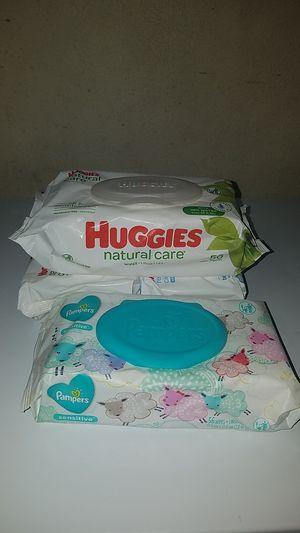 Huggies/Pampers baby wipes for Sale in Las Vegas, NV