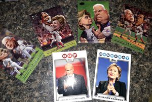 Presidential candidates baseball cards/highly collectible for Sale in Newmanstown, PA
