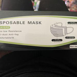 Face Mask 50 Ct Color Black for Sale in San Bernardino, CA