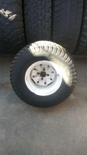 4 Lawnmower tires and rims for Sale in Irwindale, CA