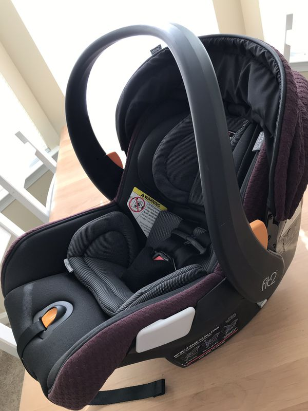 Chicco Fit2 car seat, 2 car seat bases, and KeyFit Caddy
