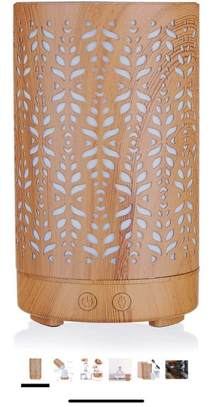 Wood Grain Aromatherapy Essential Oil Diffuser,Humidifier, for Sale in Lincolnwood, IL
