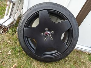 Vw gti Achtung wheels 5x112 for Sale in Linden, NJ