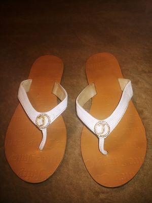 Juicy Couture Leather Flip Flop Sandals for Sale in Tempe, AZ