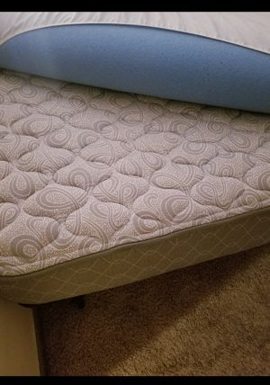 King size matress with frame and topper for Sale in Windham, ME