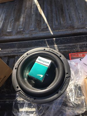 "CT Sounds Meso 8"" Dual 2 ohm 800watts RMS Brand new for Sale in Kent, WA"