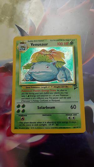 Venusaur base set 2 for Sale in Covina, CA