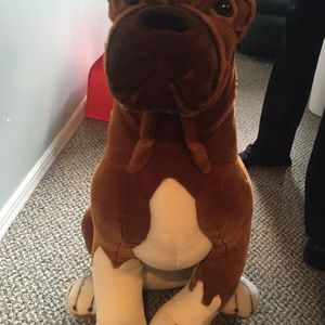 Animal Planet Wildlife Artists Giant Stuffed Animal Dog for Sale in Levittown, NY