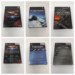 Set Of 3 History Channel DVDs - Ice Road Truckers Season 3, Axmen Season 1, & The Universe Season 4 for Sale in Manhattan Beach,  CA