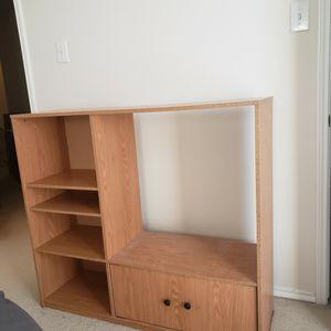 TV shelf and cabinet for Sale in Roanoke, TX