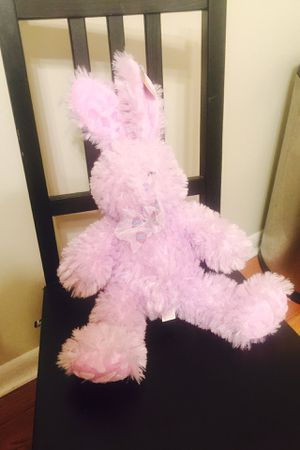 Plush easter bunny collectable doll toy for Sale in Westfield, NJ
