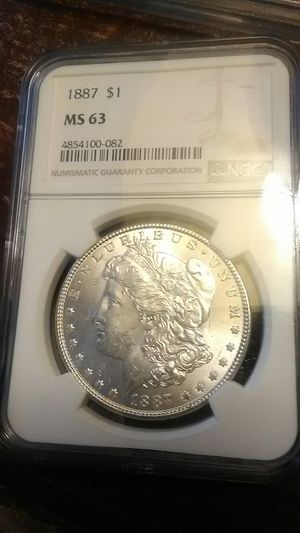 1887 ms-63 silver dollar for Sale in Norman, OK