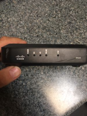 Comcast Cisco DCP 1030 internet cable modem for Comcast and wow for Sale in Chicago, IL
