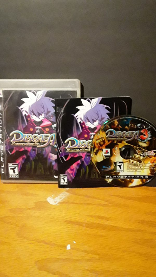 PS3- Disgaea 3: absence of justice