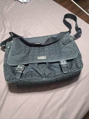 Authentic Coach Signature Messenger Bag for Sale in Forest Park, IL