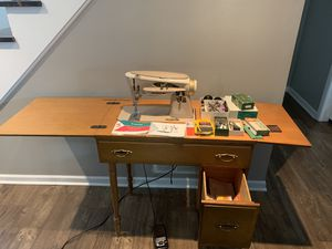 1963 Singer 503A SEWING MACHINE ROCKETEER SLANT O PERFECT PERFECT SERVICE for Sale in Winfield, IL