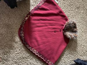 Burgundy poncho - small for Sale in Laguna Niguel, CA