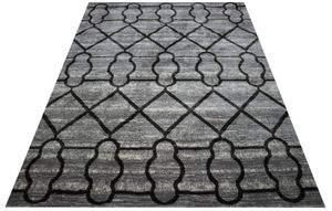 5x7 new modern design seasonal silver gray area rug for Sale in Los Angeles, CA