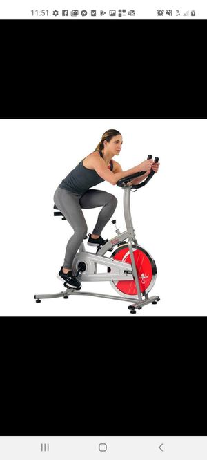 CHAIN DRIVE INDOOR CYCLING TRAINER EXERCISE BIKE.BRAND NEW IN BOX for Sale in Long Beach, CA