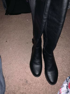 Nice Black Boots size 6 for Sale in Lakewood, CO